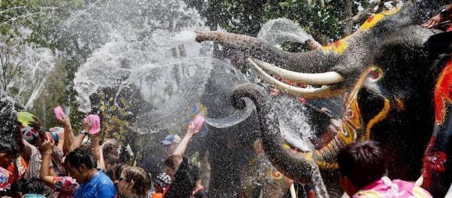 Songkran: Wasserschlacht und viele Tote