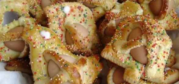 I cuddura cu l'ova, dolce pasquale siciliano
