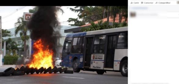 MPL faz protestos contra aumento de tarifa e tenta intimidar João Doria