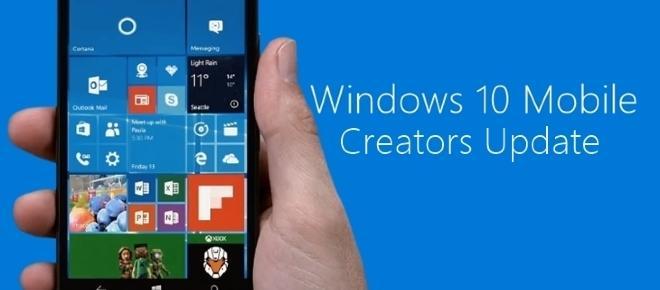 Microsoft não vai atualizar a maioria dos smartphones para a Creators Upadate