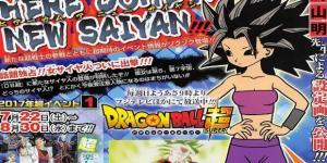 Información de la nueva chica saiyajin