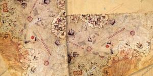 Ottoman Admiral Piri Reis Map – Stock Photos - Royalty Free Photos ... - photos5.com
