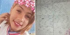 Ana Vitória e suposta carta confirmando suicídio