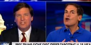 Mark Cuban on Fox News, via YouTube