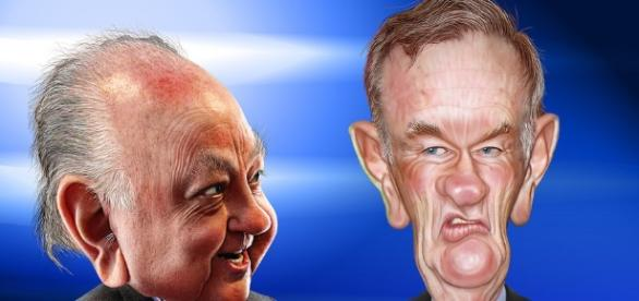 Bill Reilly and Roger Ailes Photo Credit; DonkeyHotey