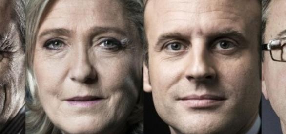 Marine Le Pen et Emmanuel Macron en baisse