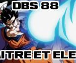 Maitre et élève ! L'entrainement de Gohan et Piccolo dans Dragon Ball Super 88 !