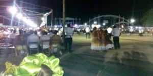 Aspecto de las velas, en la imagen, la principal, San Vicente Ferrer Grande. Foto: Juan Miguel Martìnez Chiñas.