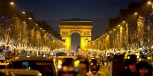 attaque terroriste sur les champs Elysées (monumentsdefrance.com)
