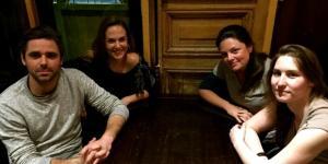 (De G à D) Cyril Benoit, Laëtitia Legrix, Charlène Dautais et Maude Davy-Zeller / DR : Christelle Cozzi