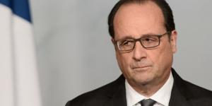 El actual presidente francés, Francois Hollande