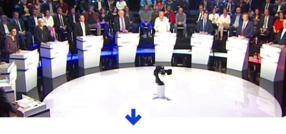 """2017 : revivez le """"Grand débat"""" des onze candidats - europe1.fr"""
