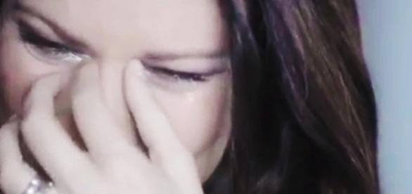 Laura Pausini |  le lacrime e l' addio più doloroso per lei