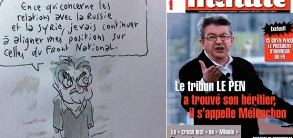 """Le dessin de Joann Sfar sur Mélenchon lui a valu des menaces """"dignes"""" de l'ultra-droite"""