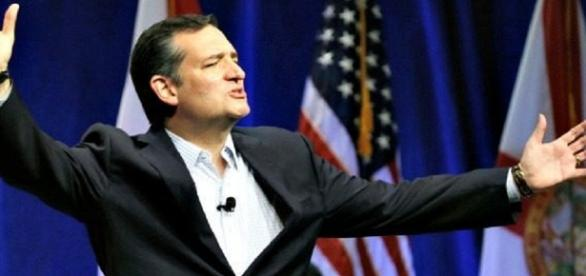 Ted Cruz says Elizabeth Warren could be the first female president in 2020 [Image credit: @encyclopedicuk / Twitter]