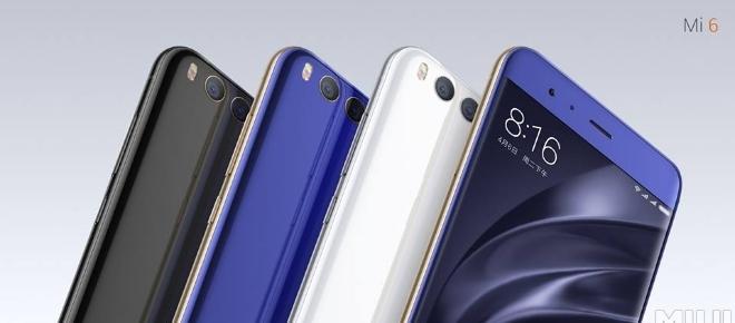 Xiaomi lança o Mi6 e bate de frente com o Galaxy S8 e o iPhone 7