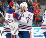 Los Oilers jugarán contra los Ducks en la 2da ronda de los playoffs.
