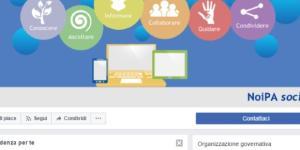 NoiPa diventa social e sbarca su Facebook