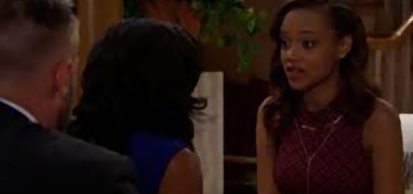 Beautiful: Rick e Maya chiedono a Nicole di fare di nuovo la madre surrogata.