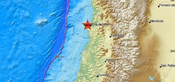 Forte terremoto in Cile: magnitudo 6.9.