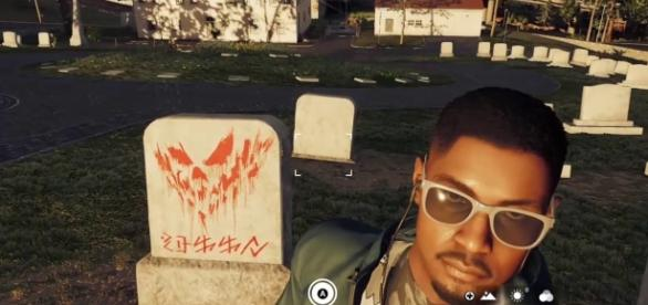 'Watch Dogs 2''s Marcus Holloway poses for a strange selfie - Image by Ubisoft