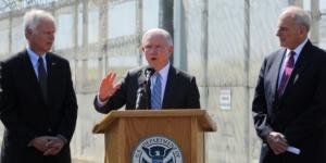 Kelly, Sessions Pledge Tough Stance on Border Policy in San Diego / Photo by voanews.com via Blasting News library