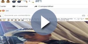 Jovem ostenta vida de traficante nas redes sociais em São Paulo.