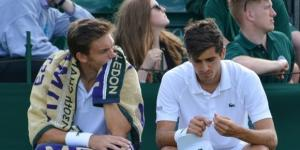 Pierre-Hugues Herbert and Nicolas Mahut during Wimbledon 2016. Photo by Kate -- CC BY-SA 2.0