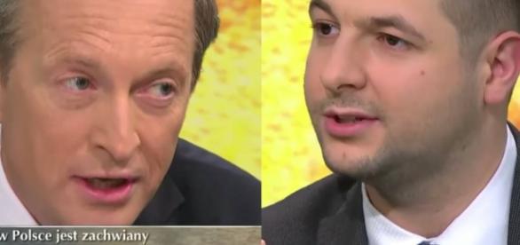 Patryk Jaki niszczy dziennikarza TVN-u.