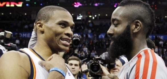 Russell Westbrook has a big lead over James Harden in MVP race - delvv.com