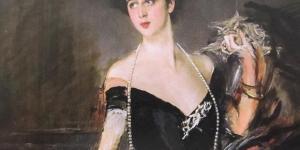 La bellissima Franca Florio nel suo più celebre ritratto