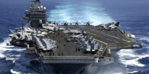 O porta-aviões USS Carl Vinson está na mira das ameaças norte-coreanas
