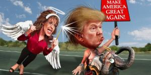 Palin Trump Photo Credit: DonkeyHotey