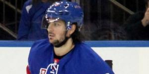 Zuccarello scored two goals, Wikimedia Commons https://commons.wikimedia.org/wiki/File:Mats_Zuccarello_-_New_York_Rangers.jpg