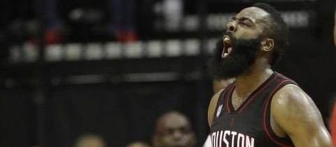 James Harden hit some key shots in the fourth to propel the Rockets - theintelligencer.com