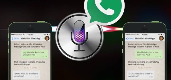 Whatsapp e Siri sempre più in simbiosi