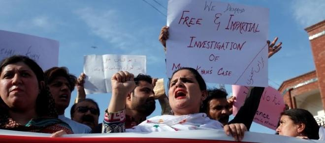 Pakistan is a terrible place -- youth beaten to death for blasphemy