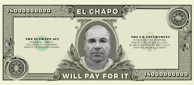 Senador Ted Cruz propone pagar muro con el dinero de El Chapo