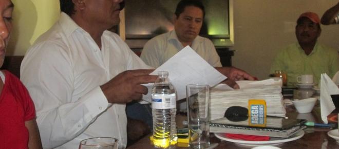 Pobladores de Alvaro Obregón, piden reconocer a su agente electo