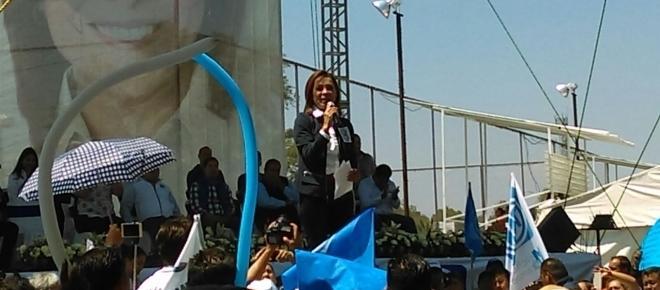 Josefina Vázquez Mota promete crear un millón de empleos en el Estado de México