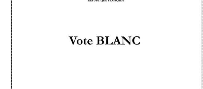 L'abstention et le vote blanc sont très attendus aujourd'hui