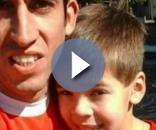 Fernando Sierra foi buscar Felipe na escola na quinta-feira; no sábado, os dois foram encontrados sem vida. (Foto: Campanha de buscas / Facebook)