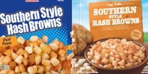 Golf ball pieces from harvest cause hash brown recall - Photo: Blasting News Library - wlos.com