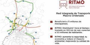 La Red de Transporte estaría integrada por 322 kilómetros