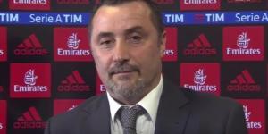 Massimiliano Mirabelli, nuovo dirigente sportivo del Milan