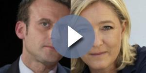 Emmanuel Macron e Marine Le Pen, sfida all'ultimo voto al ballottaggio del 7 maggio