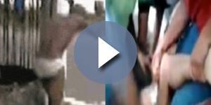 Suposto abusador apanha na Bahia - Imagem/Ilustrativa: Google