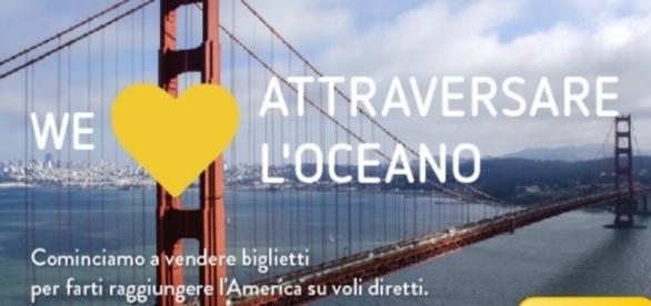 Vueling ha messo in vendita i biglietti di lungo raggio, via Barcellona, in abbinata con la 'sorella' Level