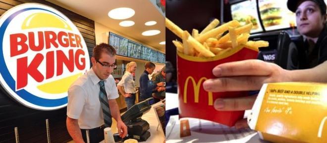 Lavora con McDonald's e Burger King: assunzioni in tutta Italia