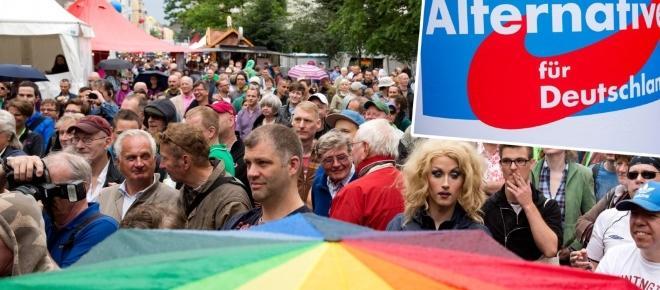Früher undenkbar - immer mehr Homosexuelle wählen rechte Parteien